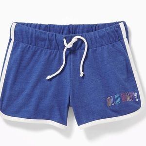 NWT Girls Old Navy Logo Graphic Shorts S